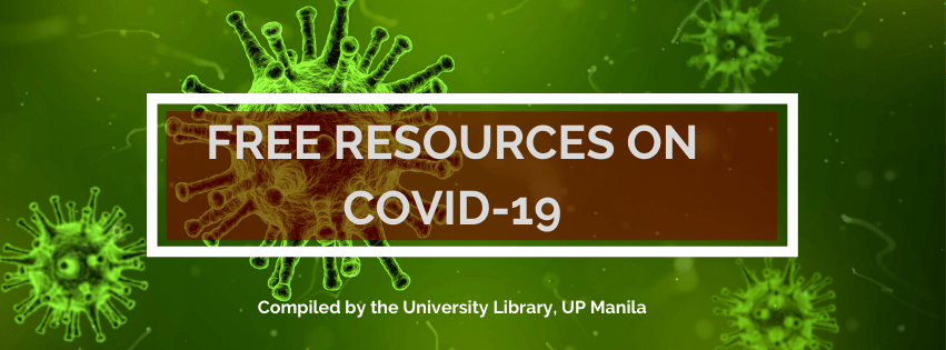 UPM Library Free Resources on COVID-19