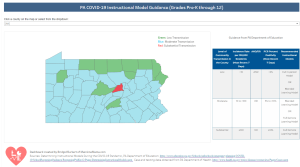 PA Instructional Guidance for COVID-19 School Reopening