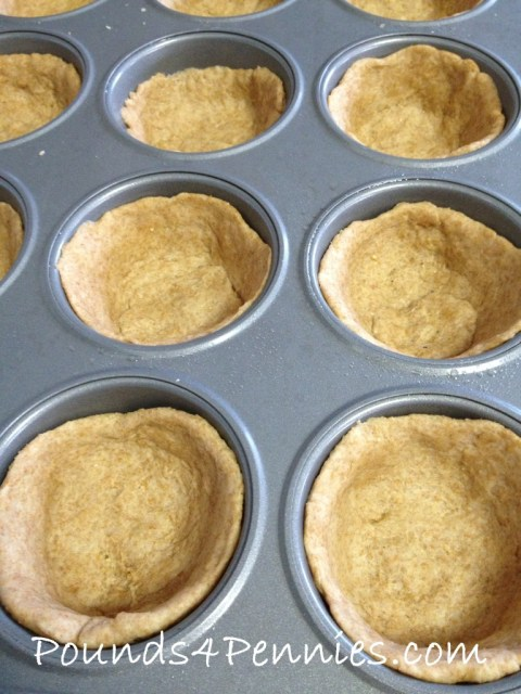 Biscuits in muffin tins