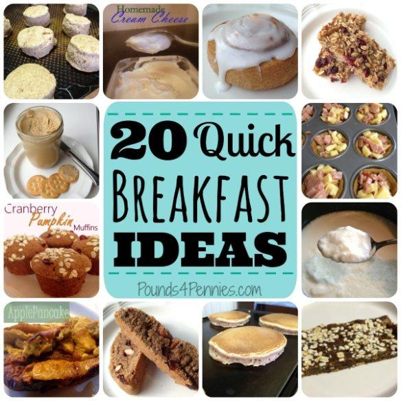 20 quick breakfast ideas