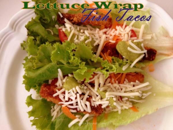Lettuce Wrap fish tacos
