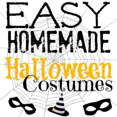 Easy Homemade Halloween Costumes