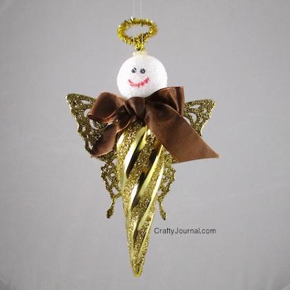 Crafty Journal - Butterfly Angel