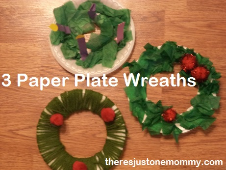Paper plate Wreath ideas