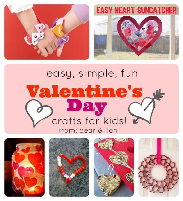 children valentine's day crafts
