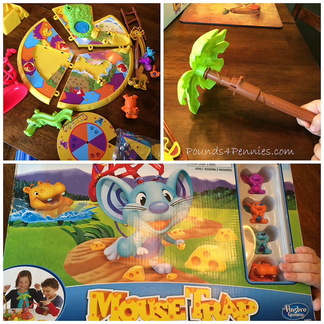 Putting Mouse Trap board game together