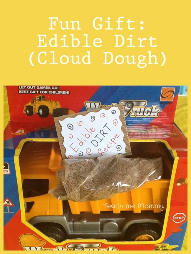Edible Cloud Dough Recipe