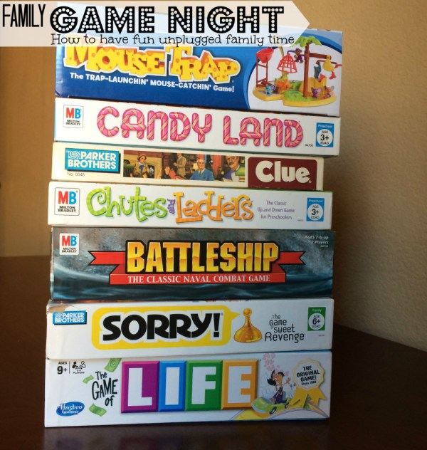 Family Game night Ideas - How to have quality unplugged family time. {Pounds4Pennies}