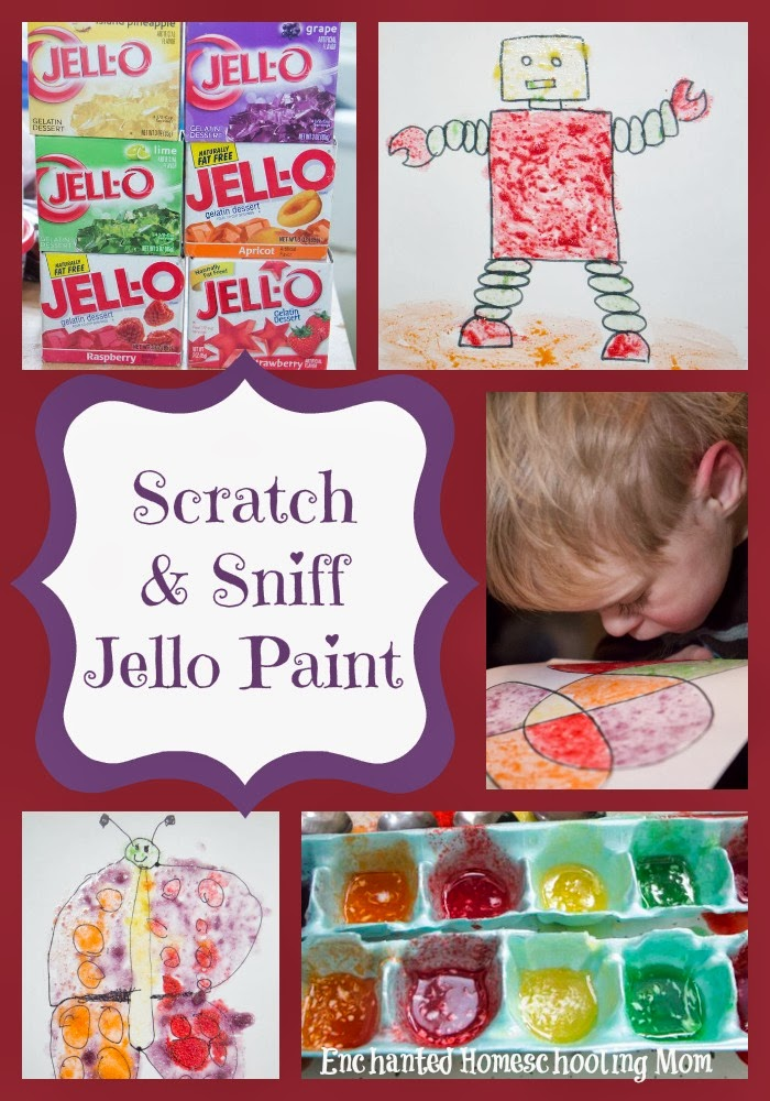 Scratch and Sniff Jello Paint
