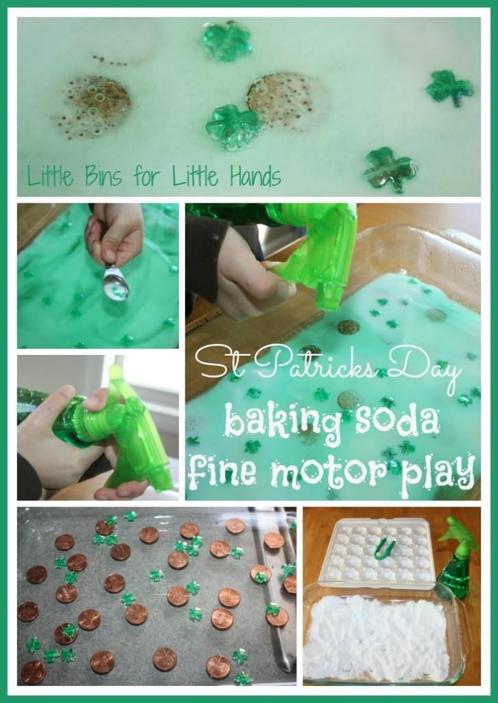 St Patricks Day Baking Soda Activity