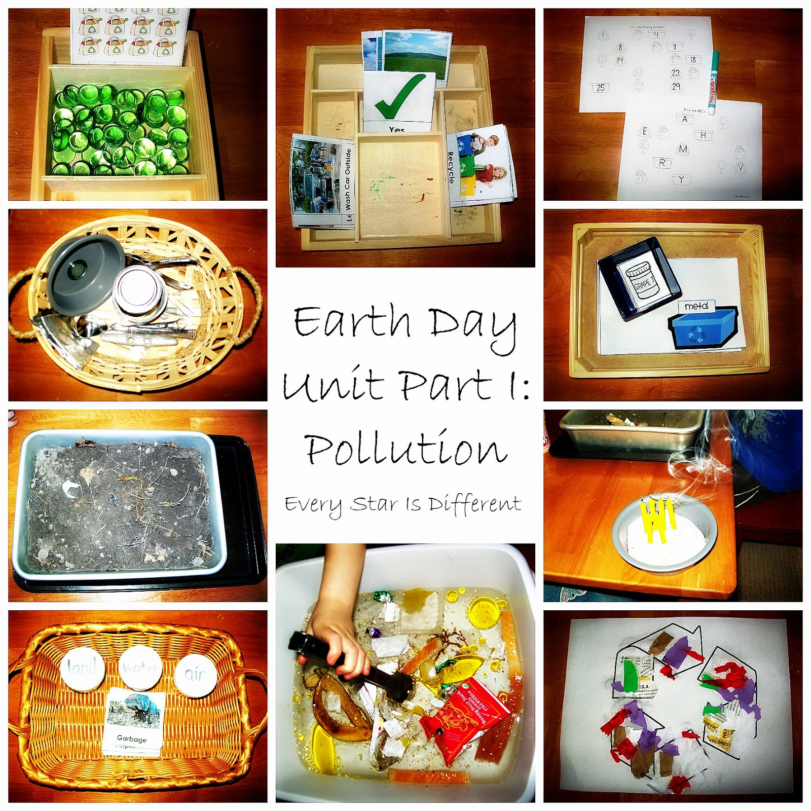 Printable Earth Day Activities For Kids