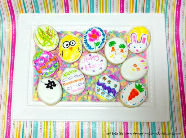Easter Sugar Cookies Craft For Kids - Easter Treats