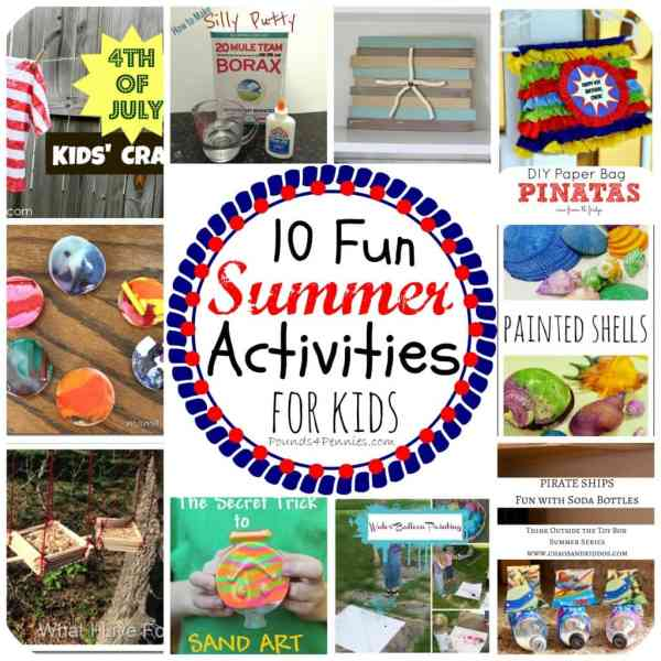 10 Fun Summer Camp Activities for Kids