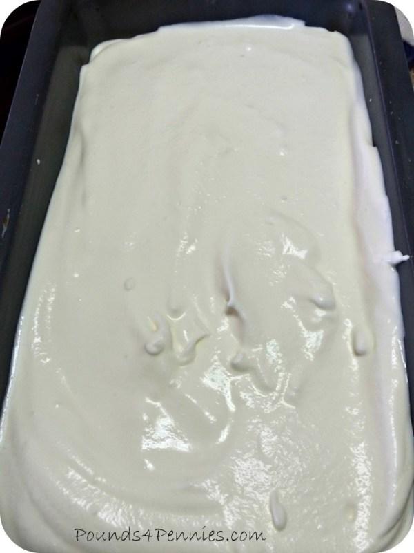 Homemade ice Cream for Freezer