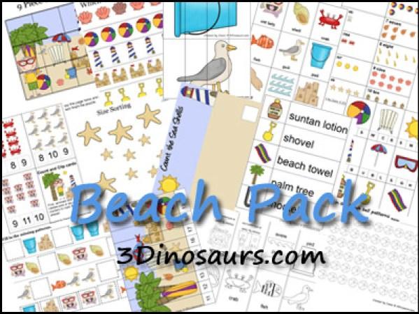 Beach Printables fun beach activities with kids