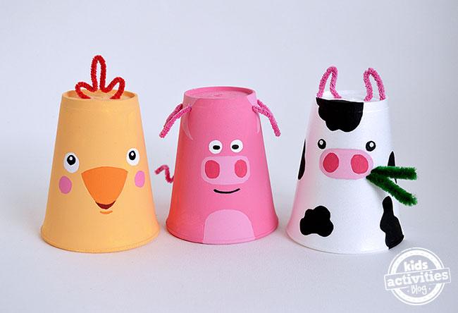 foam cup crafts