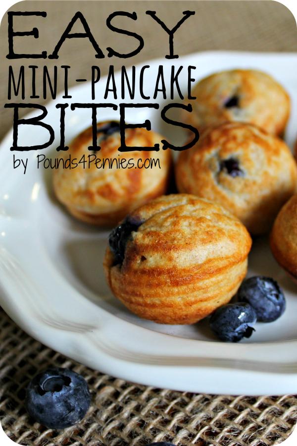 Easy Mini Pancake Bites Ebilskivers