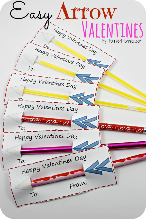 Easy Arrow Valentines
