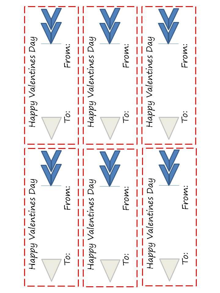 Arrows Valentine card