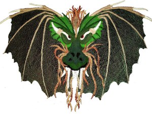 Draco Dragon - Milanese & Honiton Lace Making Pattern