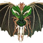 Draco Dragon - Milanese & Honiton Lace Making Pattern