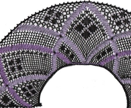 "Torchon Fan ""Clematis"" – Lace Making Pattern"