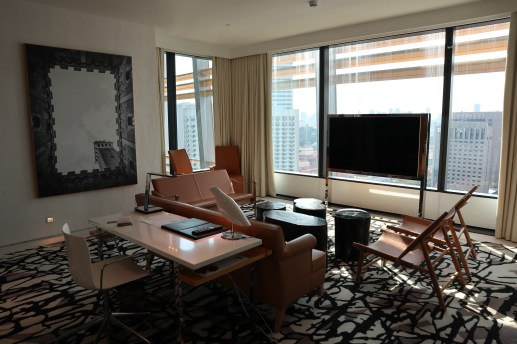 Premier Suite: Living Room