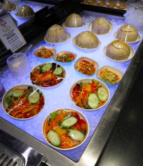 Chilled Salads (Photo: MainlyMiles)