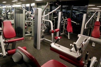 Gym. (Photo: MainlyMiles)