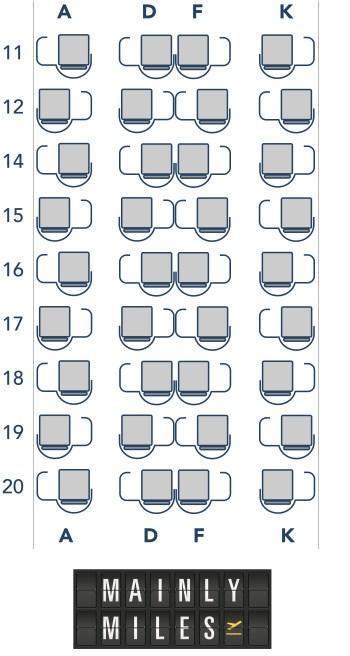 78J seat map
