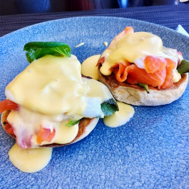 Eggs Royale. (Photo: MainlyMiles)
