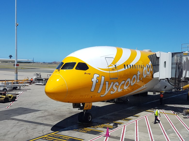 Scoot 787 Gate