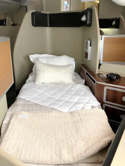 Qantas A380 First Class Bed