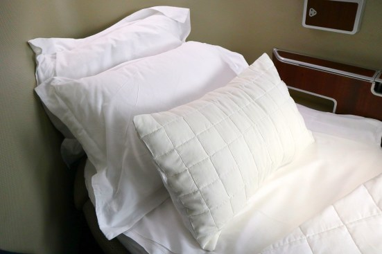 Qantas A380 First Class Pillows