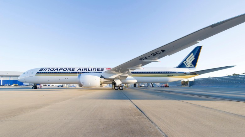 SQ 787-10 SCA (Boeing)