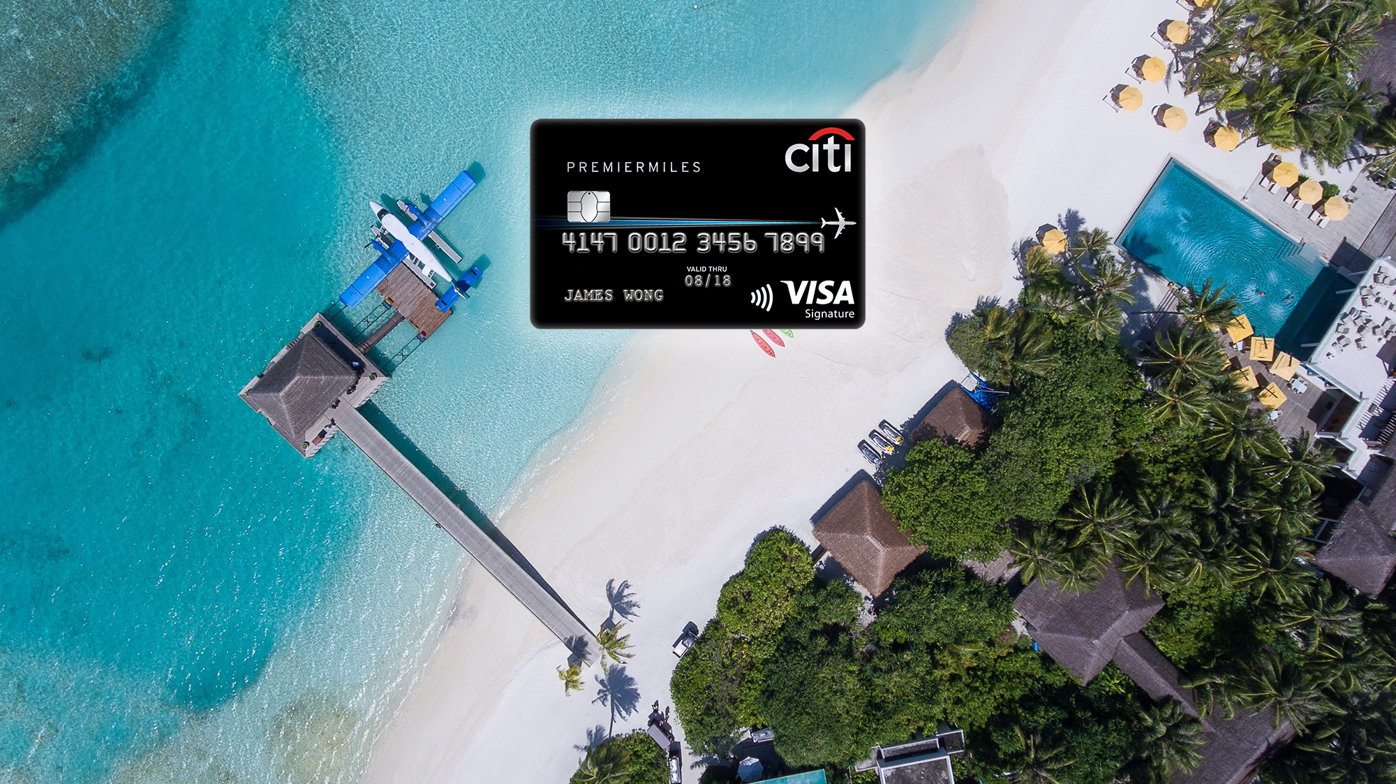 Citi's 21,000 miles sign-up bonus for the PremierMiles Visa extended to January 2019