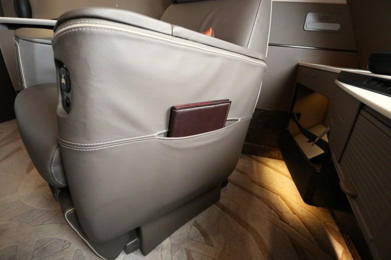 Seat Side Pocket