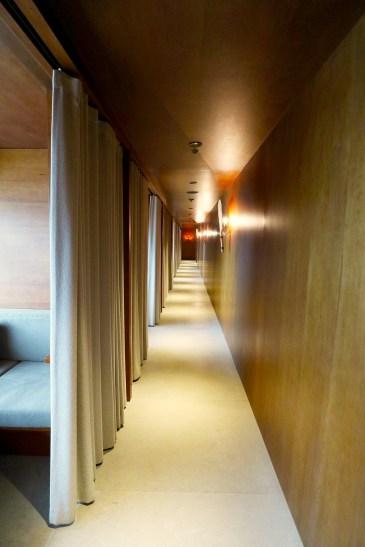Day suites corridor. (Photo: MainlyMiles)