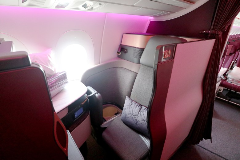 Seat 12J