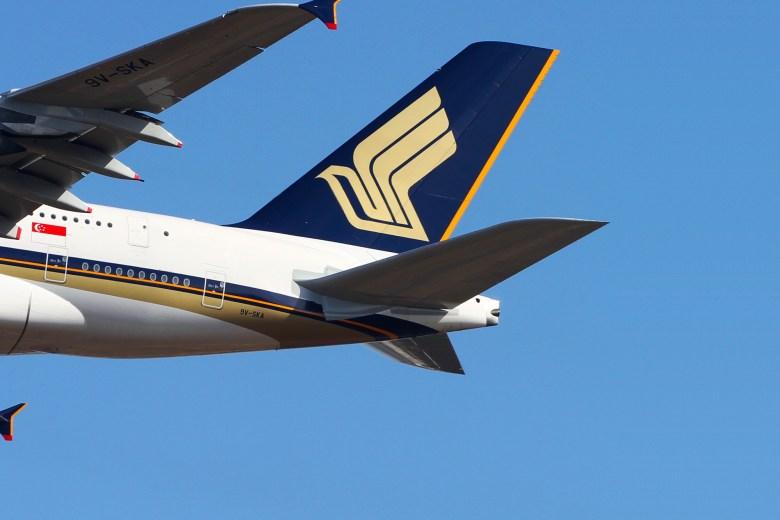 SQ A380 Tail (Kentato Iemoto)