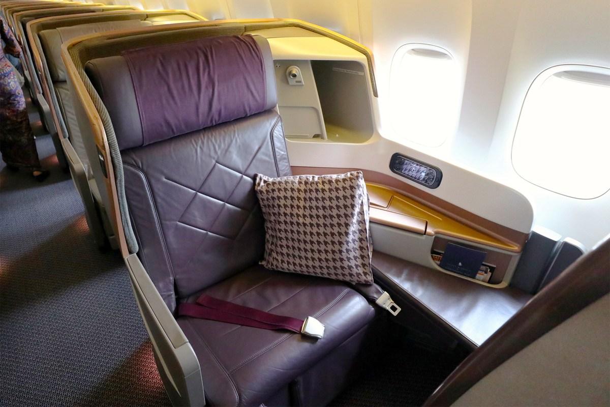 SIA\'s final 3-class 777-300ER has left service – Mainly Miles