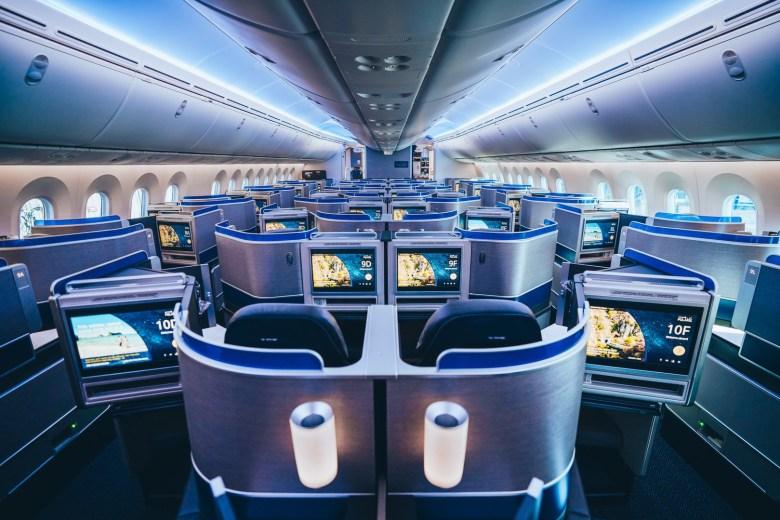 United Polaris 78K (United Airlines)