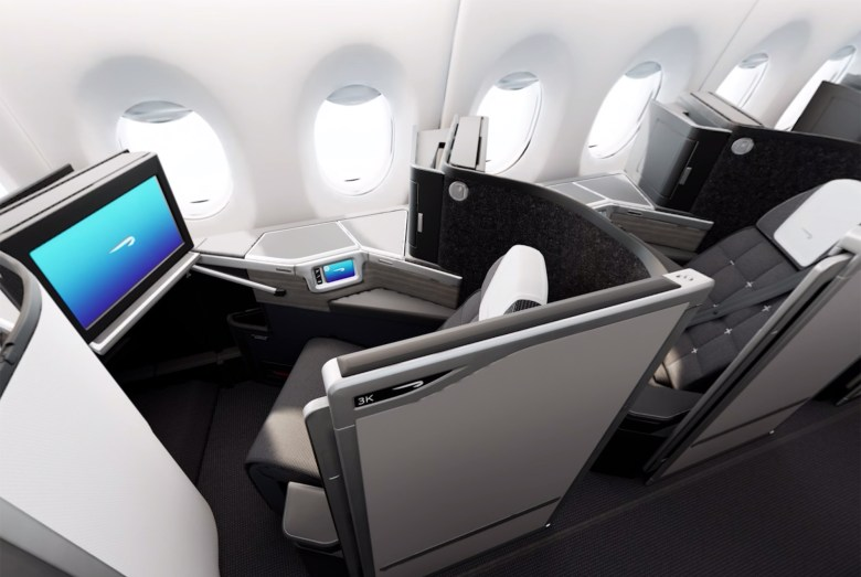 K Seats Overhead (British Airways)