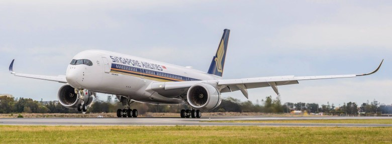 A350R Landing (Adelaide Airport).jpg