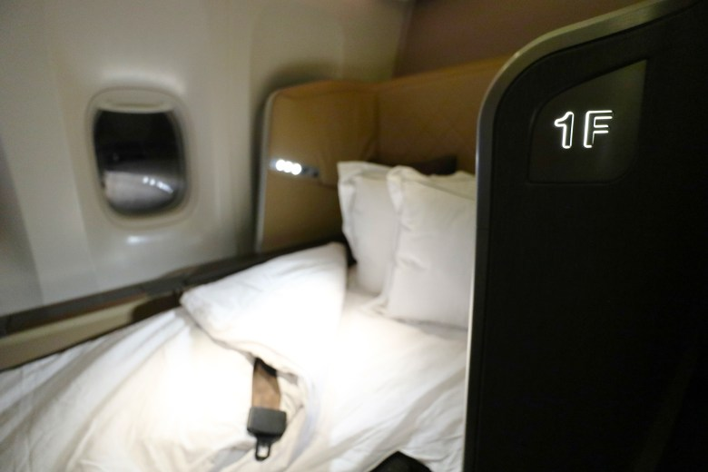 Singapore Airlines Business Class seat types by route to March 2020 ...