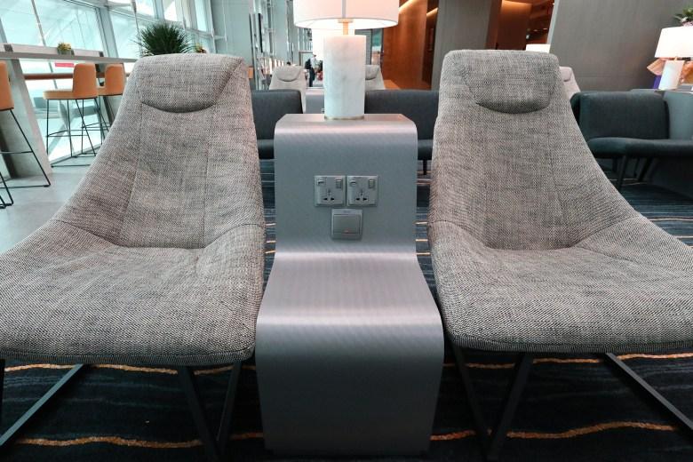 Quiet Zone Seats