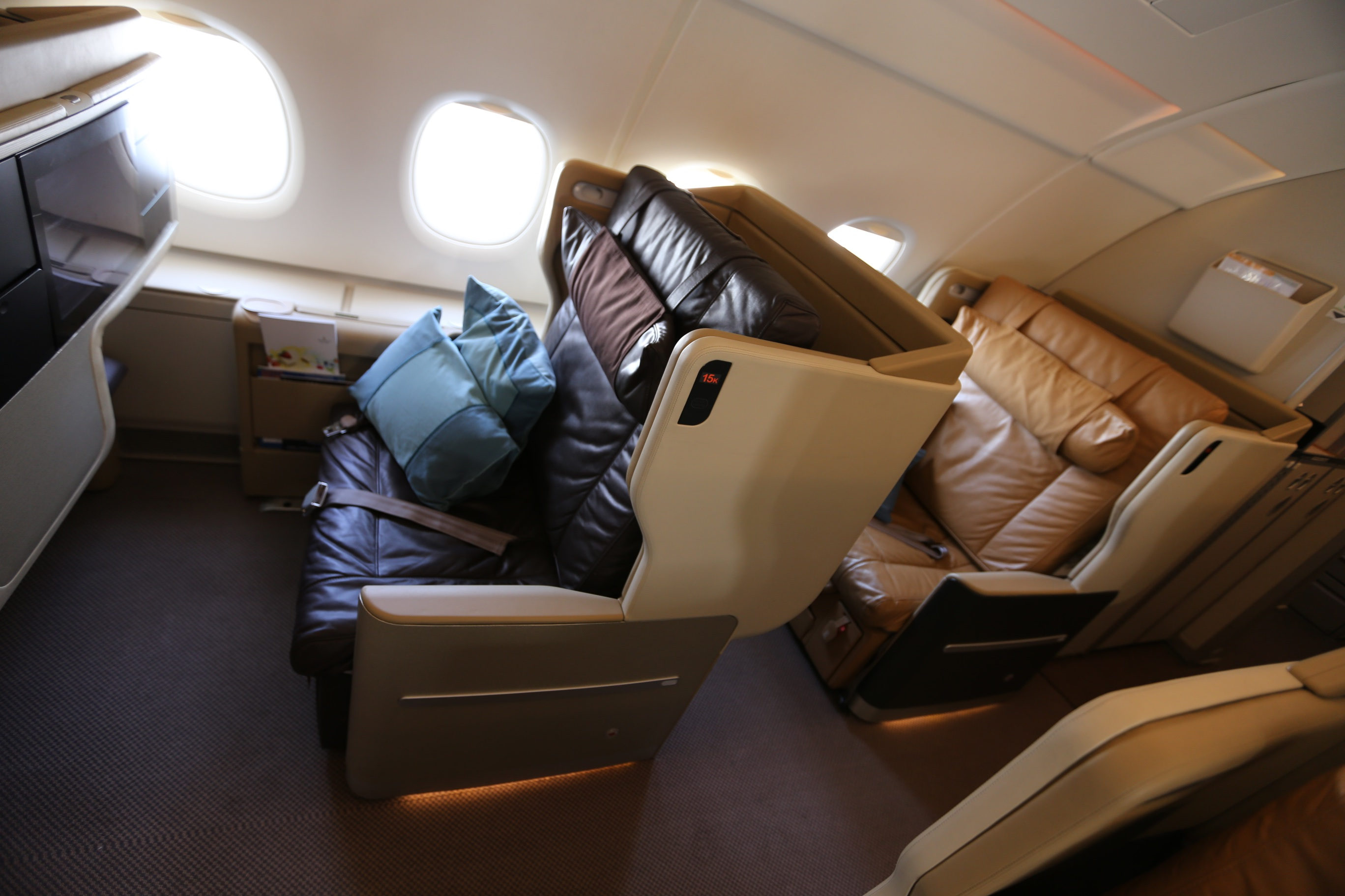 SIA Seats: 2006 J – Mainly Miles