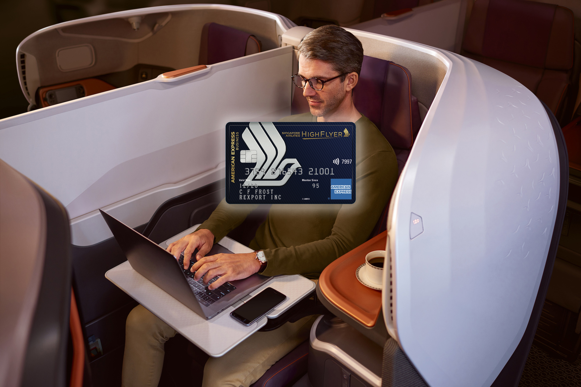 New Amex Singapore Airlines Business Credit Card launched