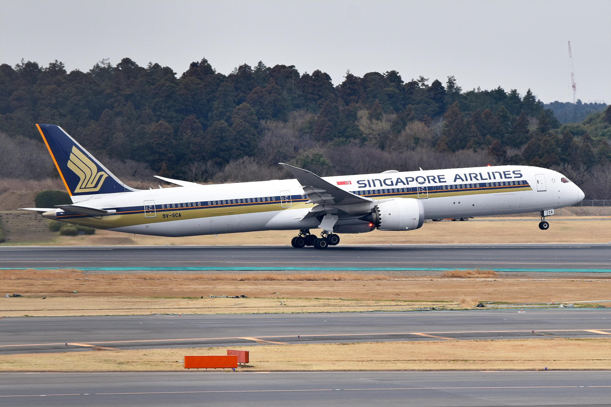 SIA's Taipei flights go all-787 from October, as Hong Kong capacity is cut