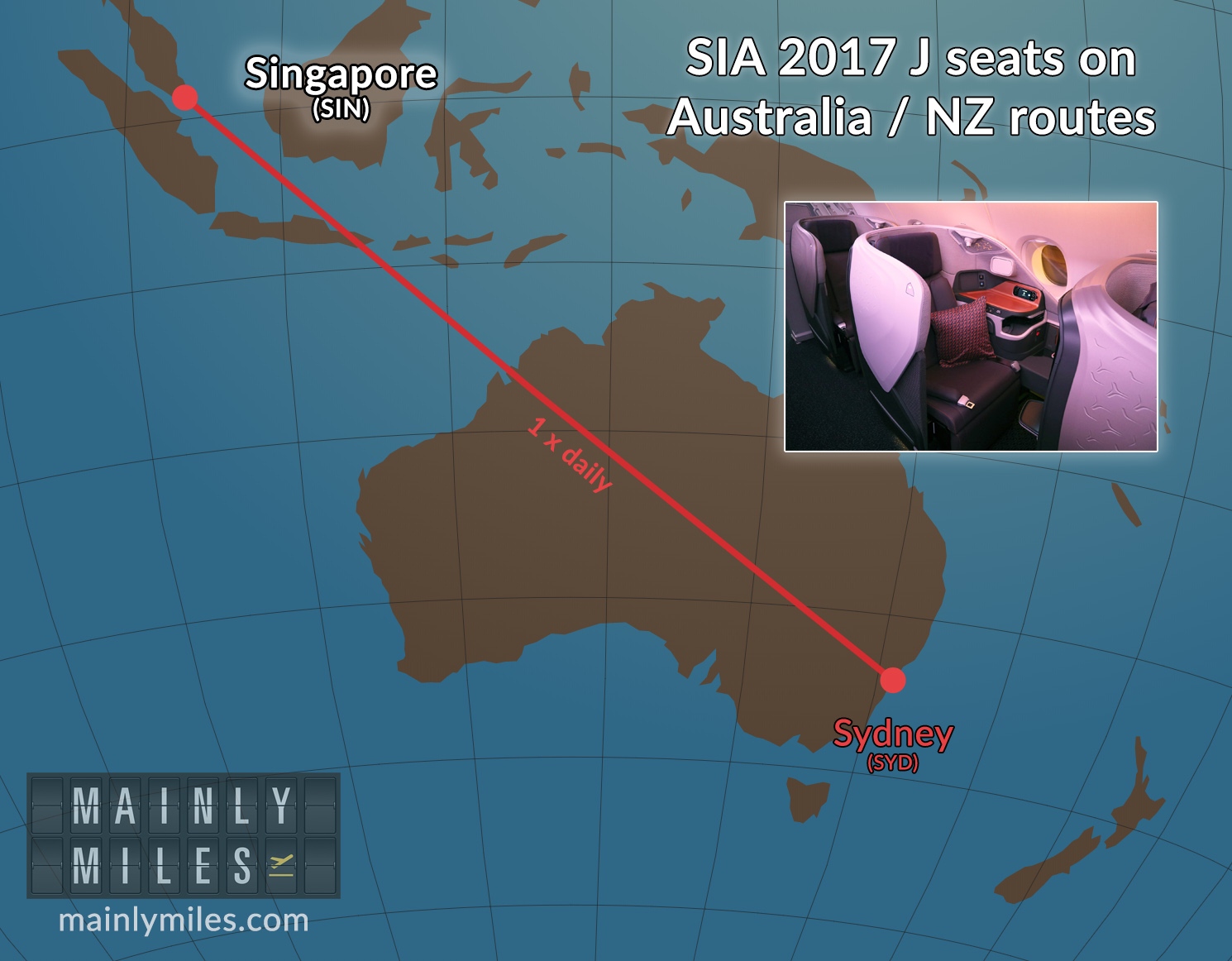 All Singapore Airlines Australia / NZ flights now have flat ...